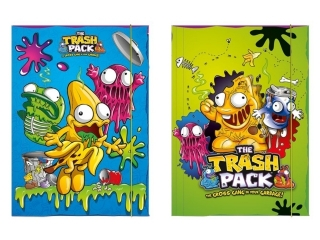 Teczka z gumk± A4 BENIAMIN The Trash Pack