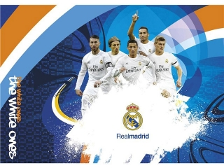Blok rysunkowy A4 20k. ASTRA Real Madrid 2