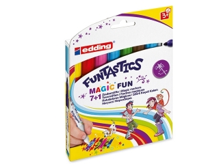 Pisaki EDDING Funtastics magic fun 8 kolorów
