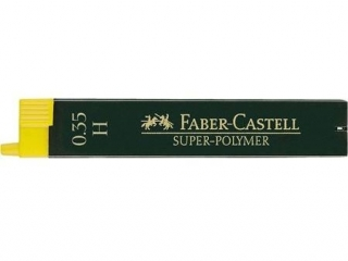 Wk³ad grafitowy FABER-CASTELL Superpolymer 0,35mm H