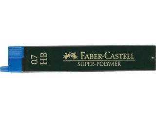 Wk³ad grafitowy FABER-CASTELL Superpolymer 0, 7mm HB