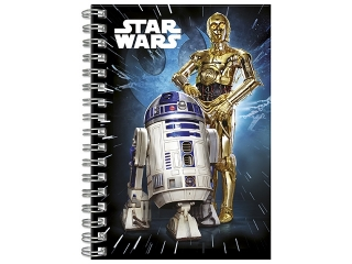 Notes spiralny A6 DERFORM Star Wars