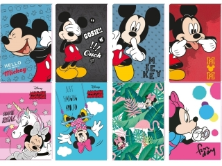 Notes A7 30k. z poddrukiem BENIAMIN Minnie x Mickey