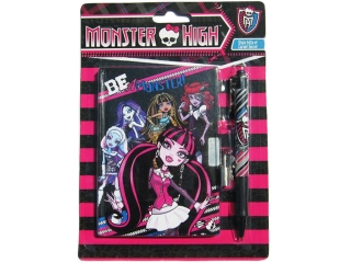 Pamiêtnik na kluczyk Monster High z d³ugopisem