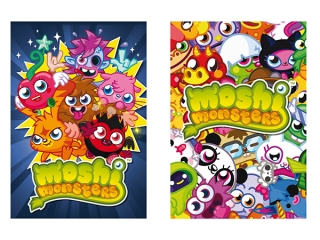 Notes A7 DERFORM MOSHI MONSTERS