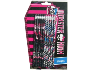 O³ówki z gumk± Monster High a'10