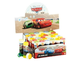 Bañki mydlane 60 ml Cars