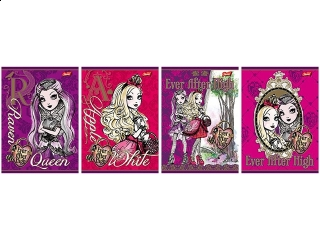 Zeszyt A5 16k. MAJEWSKI Ever After High kratka